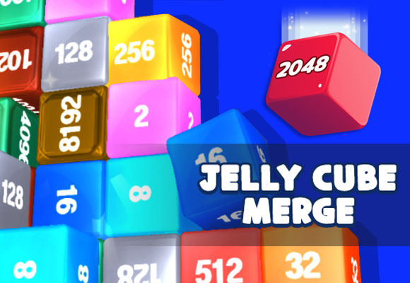 Jelly Cube Merge